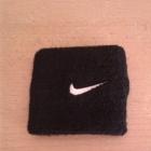 Opaska frotka na rękę wristband Nike czarna