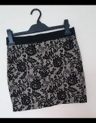 H&M Divided koronkowa mini spódniczka...