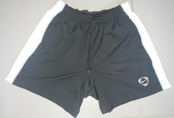 Czarno białe spodenki Nike S...