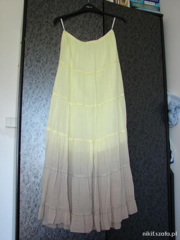 spódnica maxi ombre