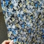 Sukienka w kwiatki kieszenie TANIO