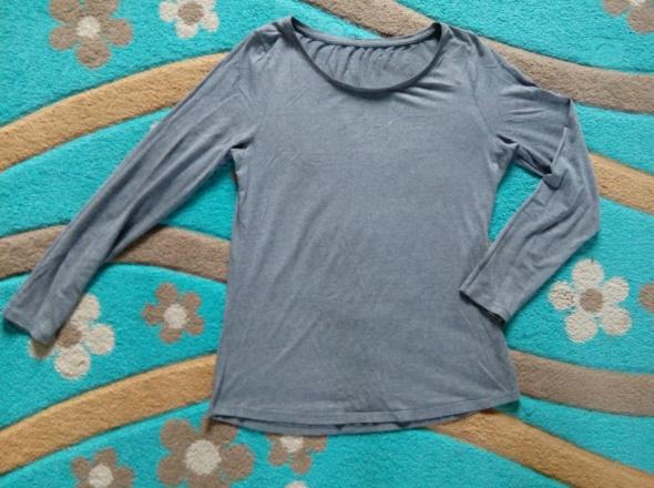 Melanżowa bluzka basic 42