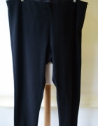 Spodnie Czarne Tregginsy Lindex Eleganckie 54 Pracy 7XL...