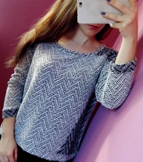 Szary sweter Atmosphere rozmiar S M