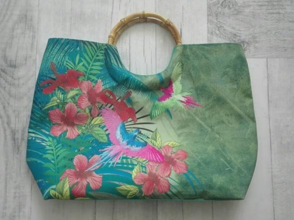 Kolorowa torba plażowa