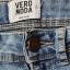 Jeansowe spodnie rurki wysoki stan r XXS