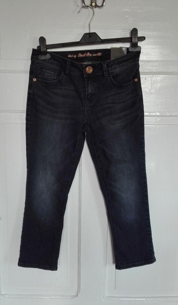 Street One spodnie rybaczki dżinsowe jeans 26 na22