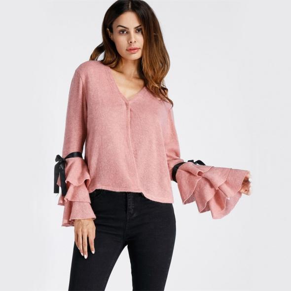 Nowy różowy sweterek XL