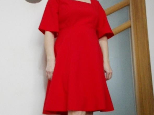 Suknie i sukienki Sukienka czerwona 42