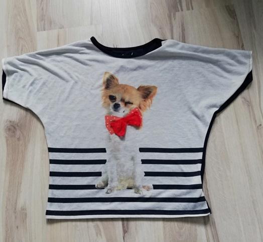 Bluzka bluzeczka dziecięca Pies Rozm 14612 13lat
