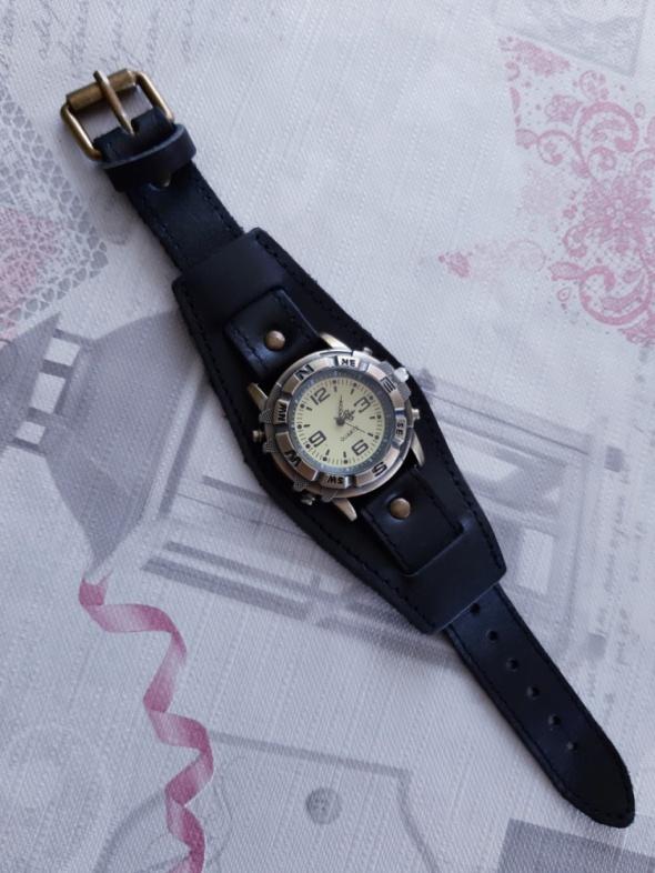 Nowy zegarek retro vintage skórzana bransoleta