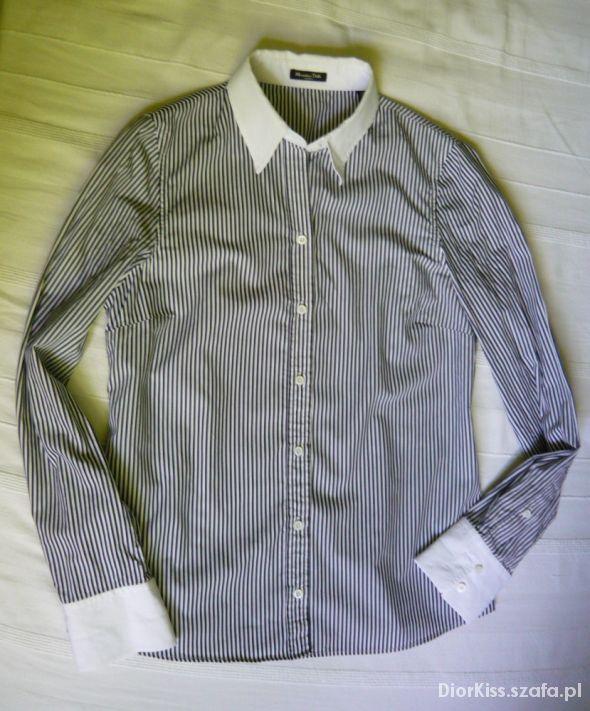 Koszula w paski Massimo Dutti 40