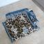 Adrienne Landau jedwabna apaszka chusta jedwab silk panterka leopard wzory print