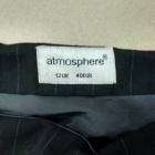 Spódnica czarna haft róża Atmosphere 40 L