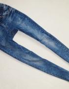 Version Jeans spodnie rurki skinny 36 S...