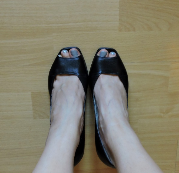 Czarne szpilki 8cm 36