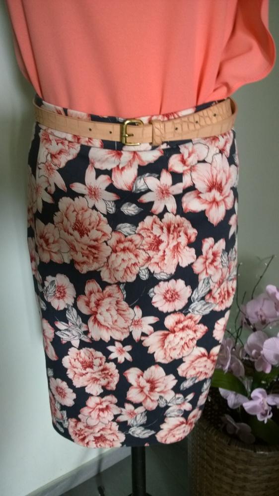 spódnica w kwiaty Top Secret
