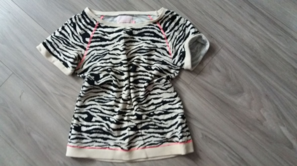 sportowa bluza bluzka reserved w zwierzecy wzorek