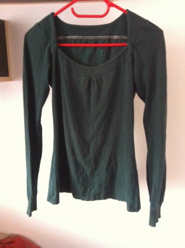 House bazowy sweterek zgniła zieleń miły XS S M