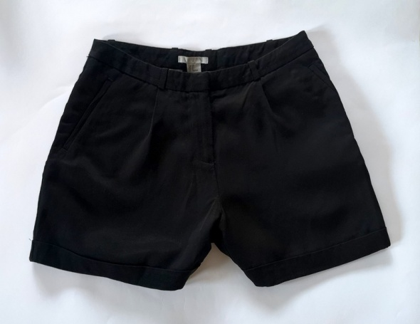 Spodenki spodenki szorty H&M czarne XS
