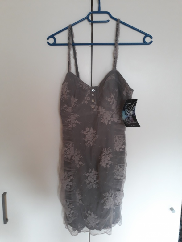 mini koronkowa sukienka XS Zara...