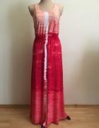 Długa sukienka ombre...
