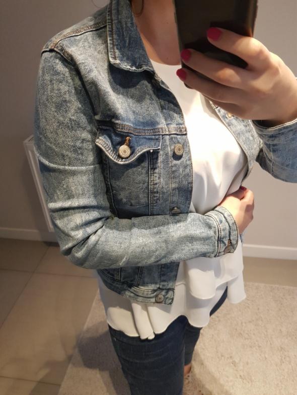 Jeansowa kurta bershka