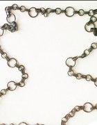 Gruby długi łańcuch stare złoto...