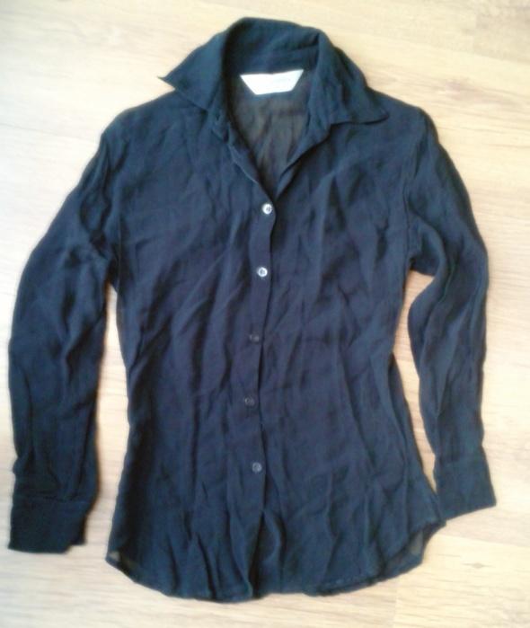 Czarna półprzeźroczysta koszula DOROTHY PERKINS 36...
