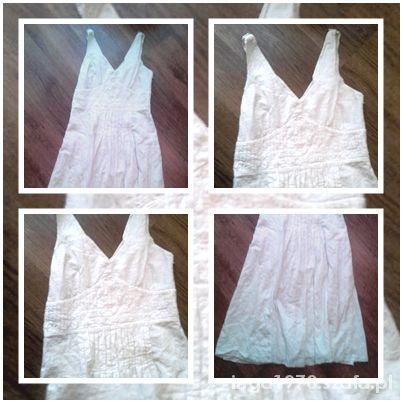 Suknie i sukienki Haftowana biała indyjska rozmiar około 36 38