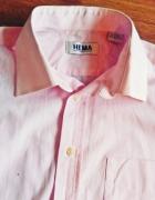 Koszula pastelowy róż 39 40 HEMA
