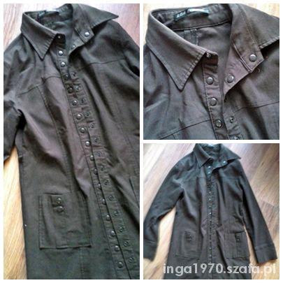 Suknie i sukienki Dopasowana szmizjerka lub letni płaszczyk 36 38