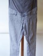 Spodnie H&M Mama Szare Rurki L 40 Ciążowe Ciąża...