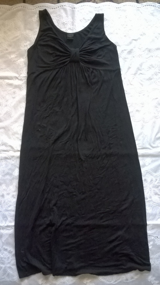 MODA Czarna sukienka r40 jak Nowa