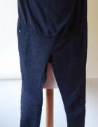 Spodnie H&M Mama XL 42 Przeszycia Ciążowe Granatowe...
