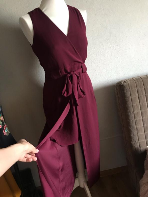 Fuksjowa sukienka River Island rozmiar 34...