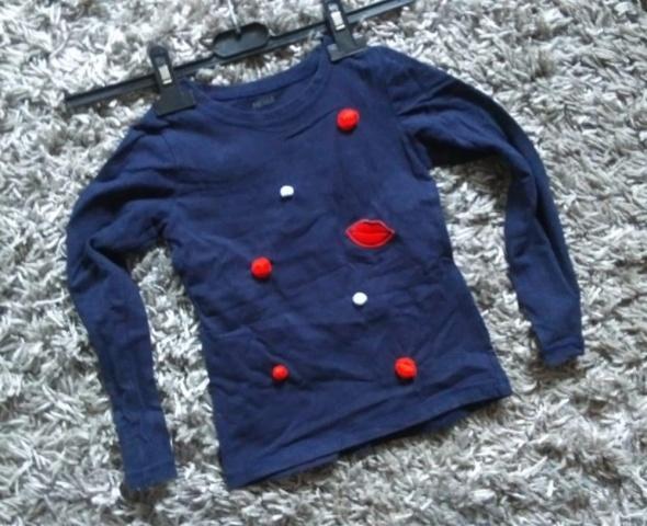 bluza pompony 110 116