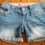 Jeansowe szorty w rozmiarze 36...