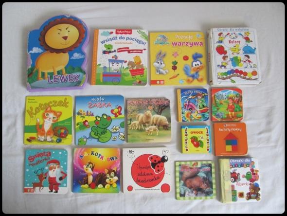 Zestaw pierwszych książeczek dla maluszka