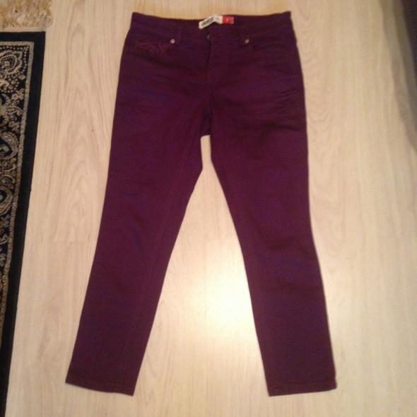 super cena hit obcisłe spodnie rurki 7 8