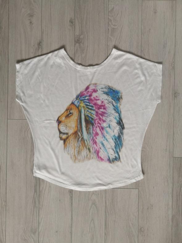 Bluzka koszulka S M luźna