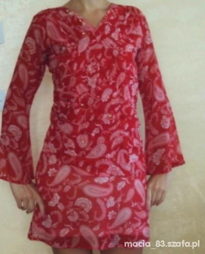 sukienka tunika bollywood 38