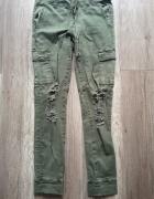 Tally weijl spodnie leginsy z dziurami nowe...