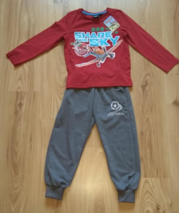 Dresy Nowy dres chłopięcy komplet spodnie dresowe samol