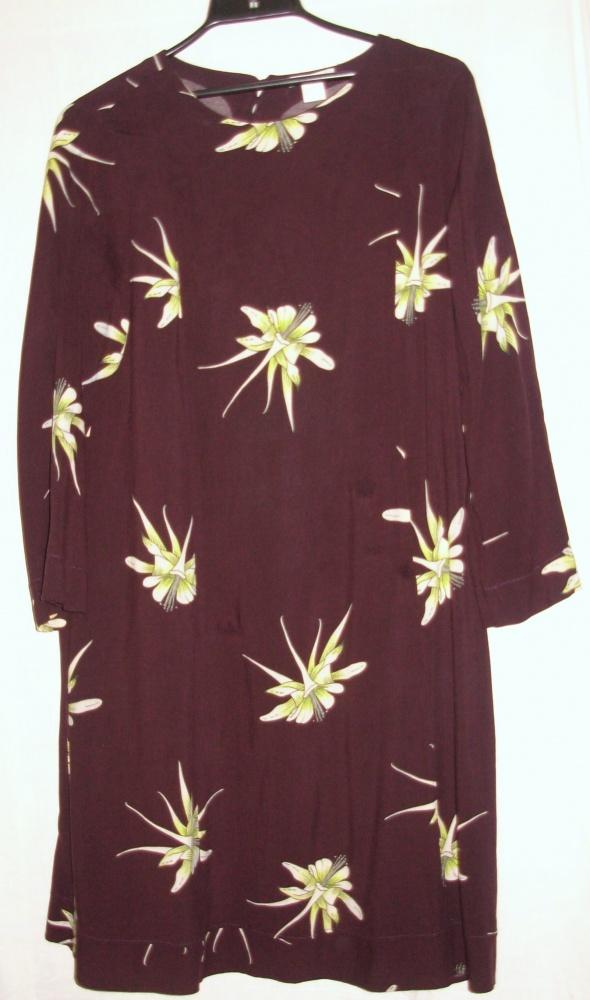 Sukienka z wiskozy HiM 42