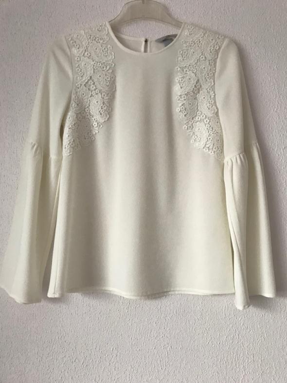 elegancka bluzka H&M z długim rękawem 36 S