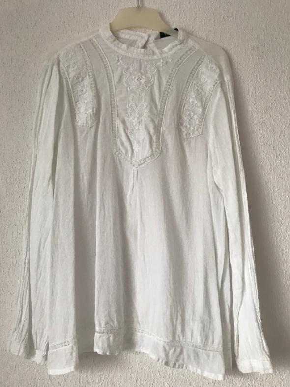 klasyczna elegancka biała Zara Basic 36 S