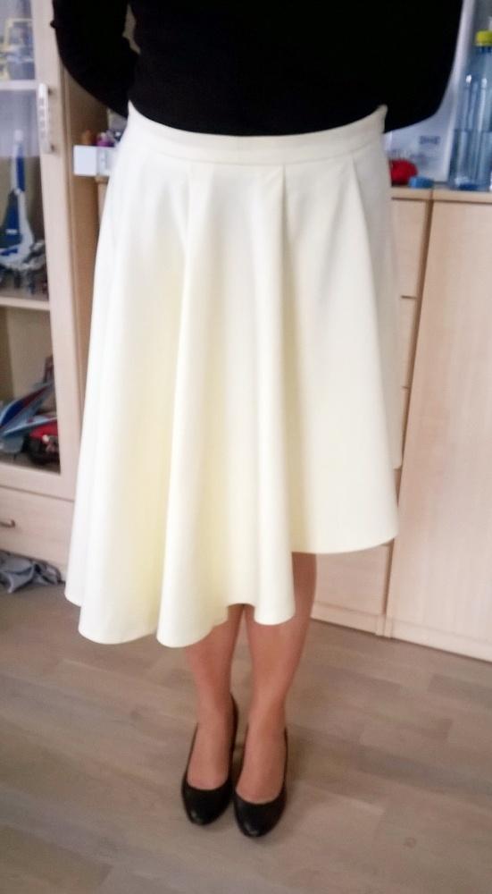 36 40 42 żółta asymetryczna spódnica