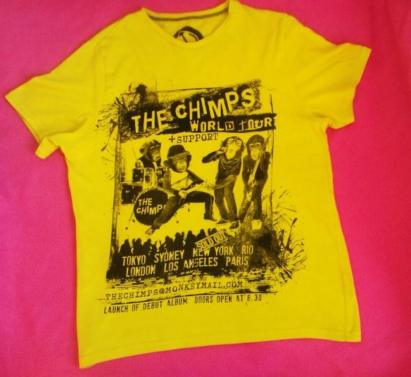 Żółta Musztardowa Koszulka Neonowa Koszulka Tshirt
