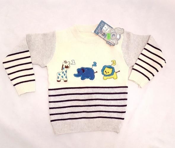 sweterek dla chłopca
